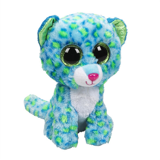 Ty Beanie Boos - Leona the Blue Leopard
