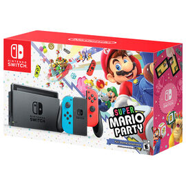 Nintendo Switch Super Mario Party Hardware Bundle