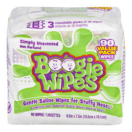 Boogie Wipes - Unscented - 90s