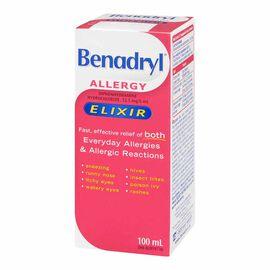 Benadryl Elixir Syrup - 100ml
