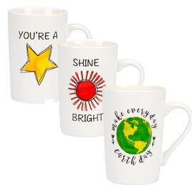 London Drugs Porcelain Mug - Assorted Celestial - 365ml