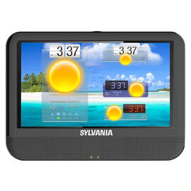 Sylvania 9-in Tablet PC and Portable DVD Combo - Black - SLTDVD9220