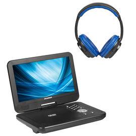 Sylvania 10-in Portable DVD Player - Black - SDVD1035BT