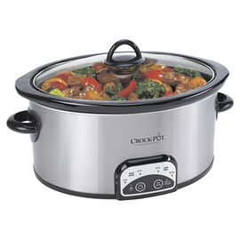 Crock-Pot Programmable Slow Cooker - 4 quart - SCCPVP400S-033