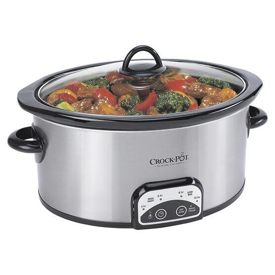 Crock-Pot Programmable Slow Cooker - 4 quart - SCCPVP400S-033