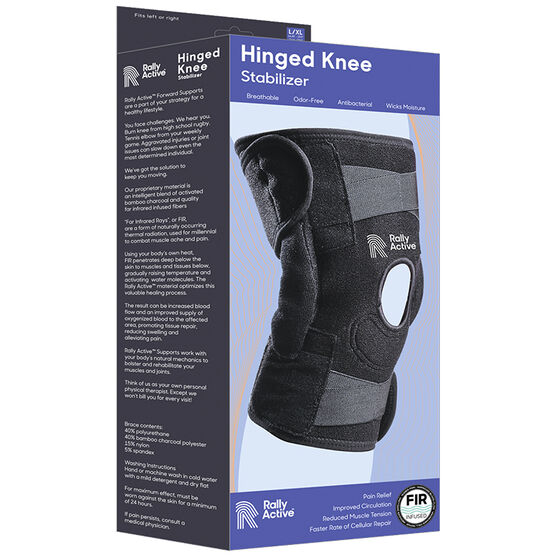 Rally Active Hinged Knee Stabilizer - Large/Extra Large