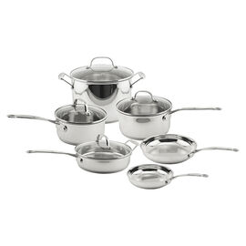 Earthchef Premium Copper Clad Cookware Set - 10 piece