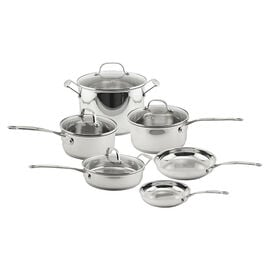 Earthchef Premium Copper Clad Cookware Set - 10 piece