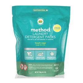 Method Laundry Detergent - Beach Sage - 42's