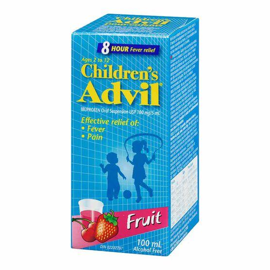 Children's Advil Suspension - Fruit - 100ml