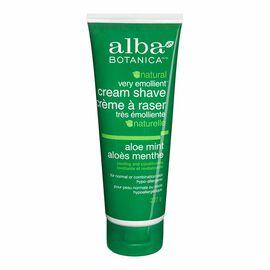 Alba Moisturizing Cream Shave - Aloe Mint - 227g