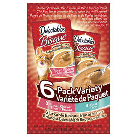 Hartz Delectable Variety Pack - 6 x 40g