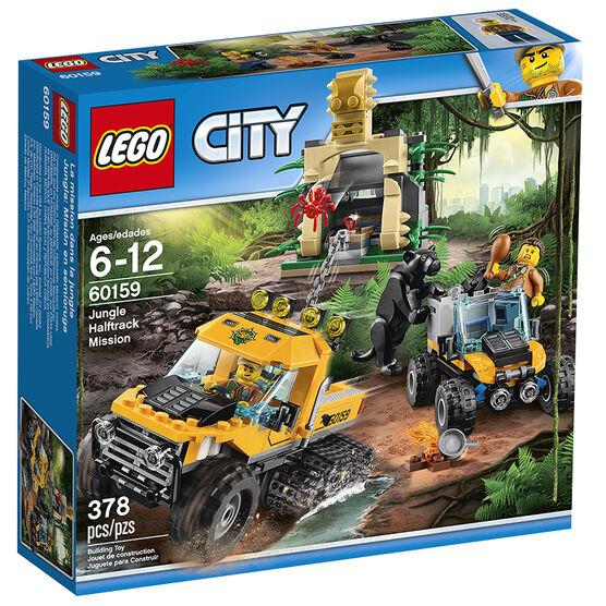 LEGO City - Jungle Halftrack Mission