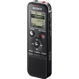 Sony 4GB+SD Voice Recorder - Black - ICDPX470