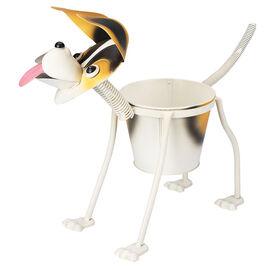 Hand Craft Metal Planter - Dog