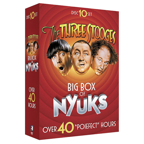 Three Stooges Big Box of Nyuks - DVD