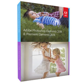 Adobe Photoshop and Premier Elements Version 2018 Bundle