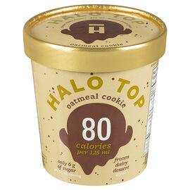 Halo Top Frozen Dairy Dessert - Oatmeal Cookie - 473ml