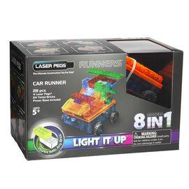 Laser Pegs Car Runner Kit
