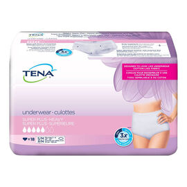 Tena Protective Women's Underwear - S/M - 18's
