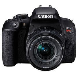 Canon Rebel T7i with 18-55mm IS STM Lens - Black - 1894C002