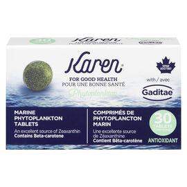 Karen Marine Phytoplankton Tablets - 30's