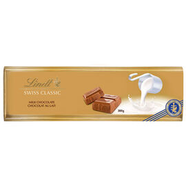 Lindt Swiss Classic Gold Chocolate Bar - Milk - 300g