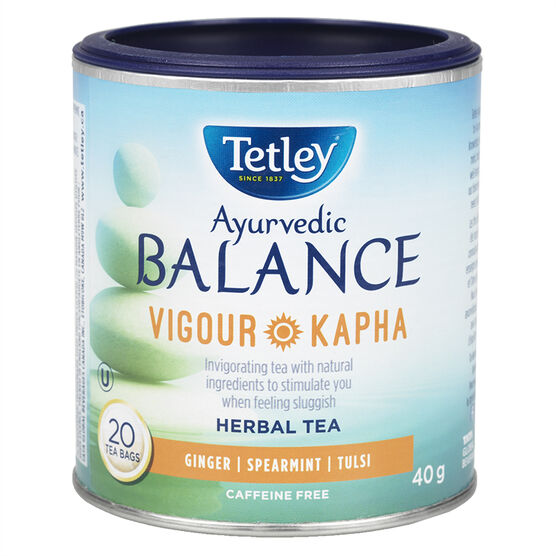 Tetley Balance Vigour Kapha Tea - Ginger - 20's