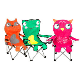Details Animal Camping Chair - Assorted