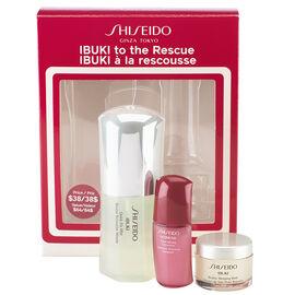Shiseido IBUKI to the Rescue Starter Kit - 3 piece