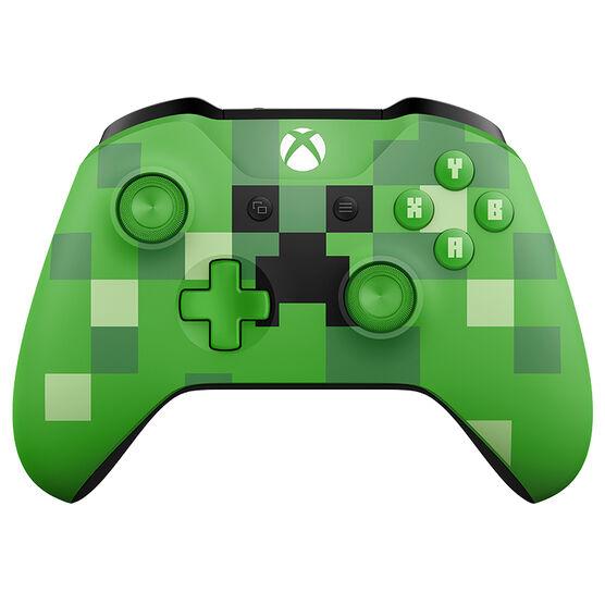 Microsoft Xbox Wireless Controller - Minecraft Creeper Green - WL3-00056