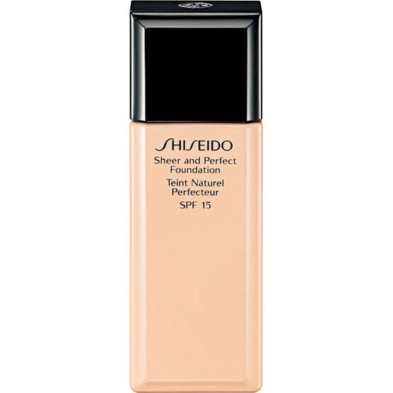 Shiseido Sheer and Perfect Foundation - I100 Very Deep Ivory