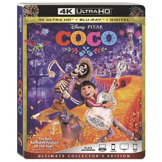 Coco - 4K UHD Blu-ray
