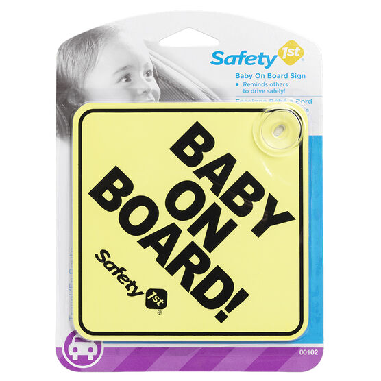 Safety 1st Baby on Board Sign