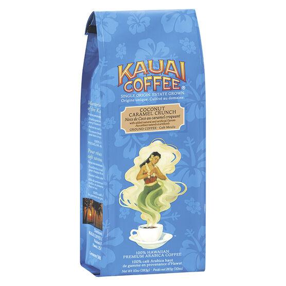 Kauai Ground Coffee - Coconut Caramel Crunch - 283g