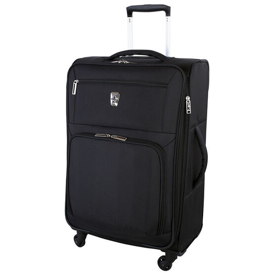 "Atlantic Glider Collection 24"" Softshell Luggage - Black"
