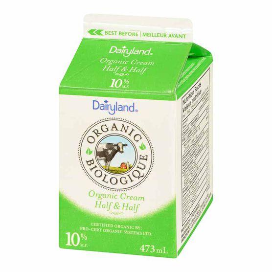 Dairyland Organic Cream 10% - 473ml