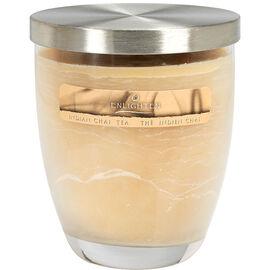 Wax Jar Candle with Lid - Indian Chai Tea - 10oz
