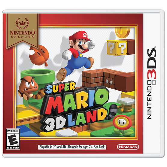 Nintendo 3DS Selects: Super Mario 3D Land