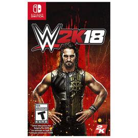 PRE ORDER: Switch WWE 2K18