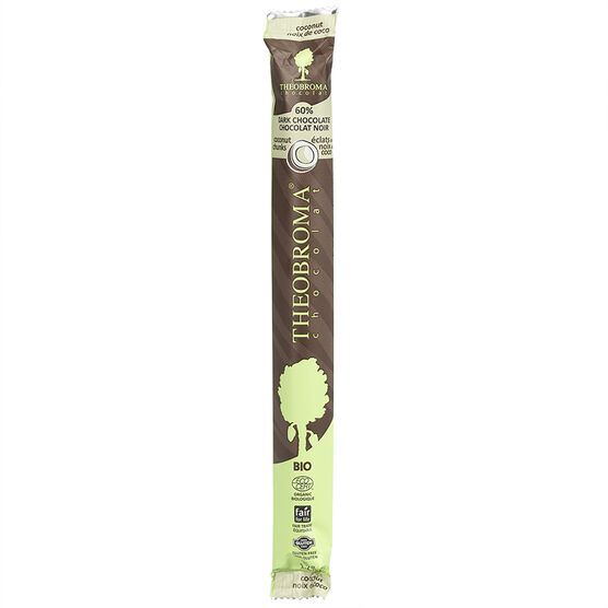 Theobroma Chocolat Stick - 60% Dark Chocolate with Coconut Flakes - 35g