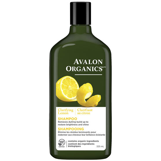 Avalon Organics Clarifying Shampoo - Lemon - 325ml