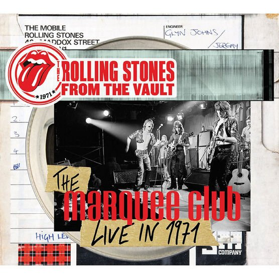 The Rolling Stones - The Marquee Club: Live in 1971 - DVD + CD