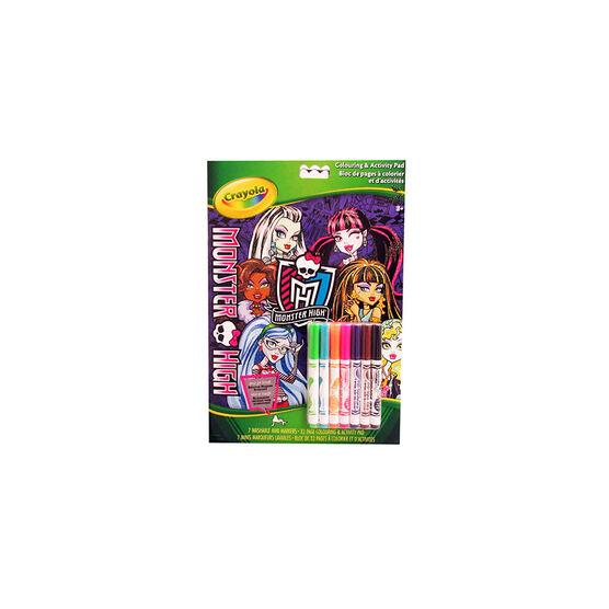 Crayola Monster High Activity Book