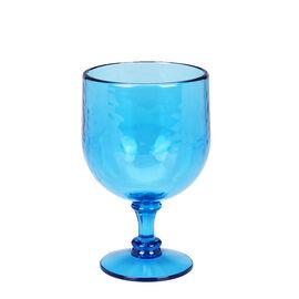 London Drugs Wine Glass Plastic - Blue