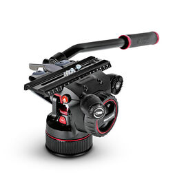 Manfrotto Nitrotech N12 Fluid Video Head with Continuous CBS - MVHN12AH