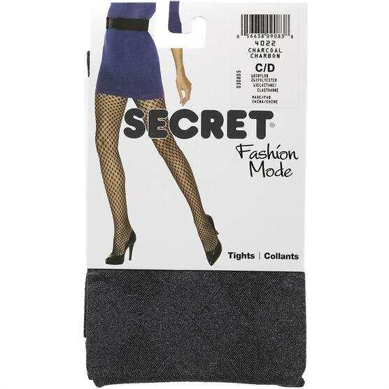 Secret Heather Tights