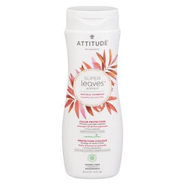 Attitude Super Leaves Science Natural Shampoo - Color Protection - 473ml