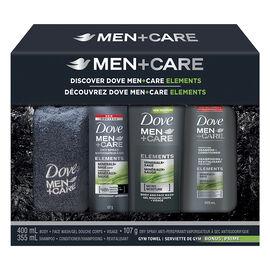 Dove Men+Care Elements Gift Set - 4 piece