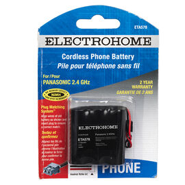 Electrohome Rechargeable NiMH Phone Battery -E TA578